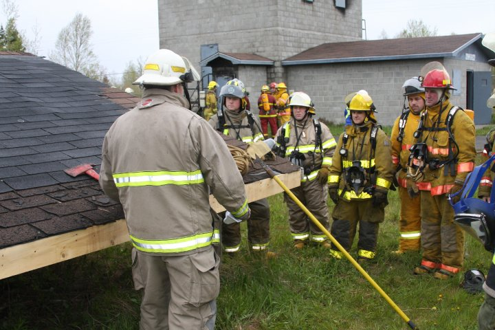 Roof Operations training prop